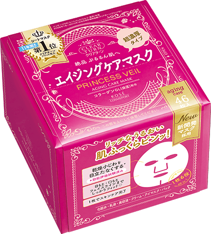 Clear Turn Princess Veil Aging Care Mask